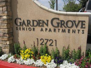 Garden Grove Monument Sign