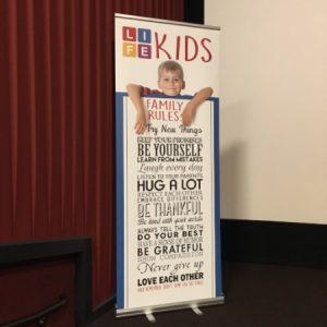 Retractable Banner Trade Show Display
