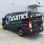 Panamei Seafood Custom Van Wrap
