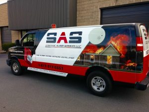 SAS Commercial Van Wrap
