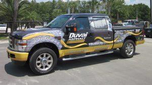 custom full truck wrap